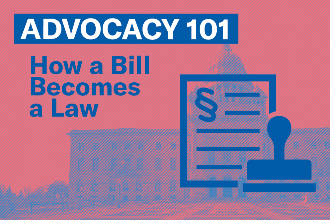 Advocacy 101: How a Bill Becomes a Law