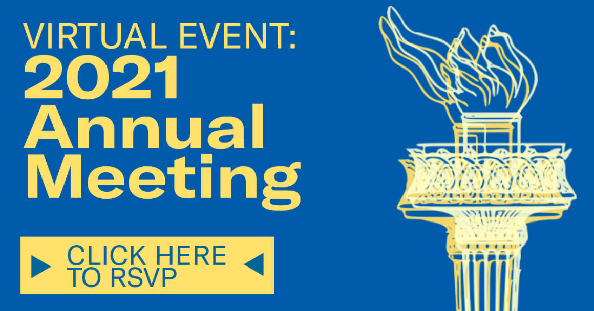 RSVP for 2021 Annual Meeting